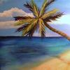 Sweet Paradise  ©2009 Stevn Dutton Acrylic 18x24  Private Collection